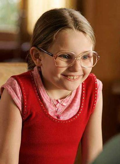<i>Abigail Breslin, en una imagen de Pequeña Miss Sunshine.</i>