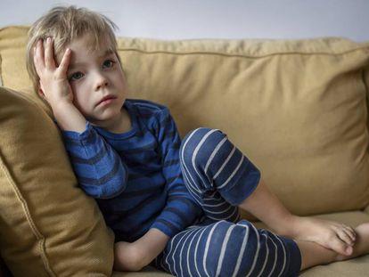 La cuarentena prolongada puede afectar al estado de ánimo de los niños.
