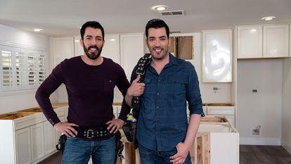Los hermanos Scott, protagonistas de 'La casa de mis sueños'.