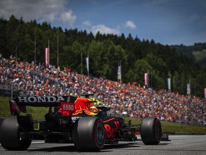 Verstappen en el GP de Austria.