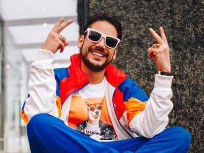 Ricardo González, un 'youtuber' conocido como RIX, en una fotografía publicada en sus redes sociales.