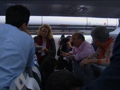 Entrevista al Papa en el avión de regreso de Brasil