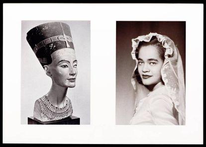 Imagen que forma parte de 'Miscegenated Family Album' (Sisters I), 1980/1994, de Lorraine O'Grady.