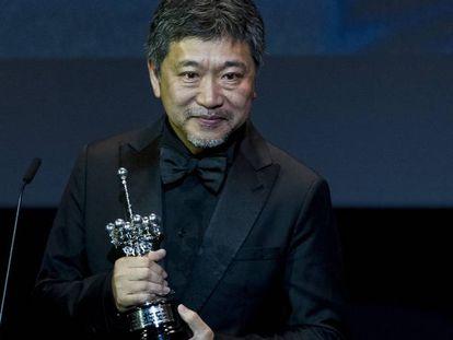 Kore-eda recibió el Premio Donostia en el último Festival de Cine de San Sebastián.