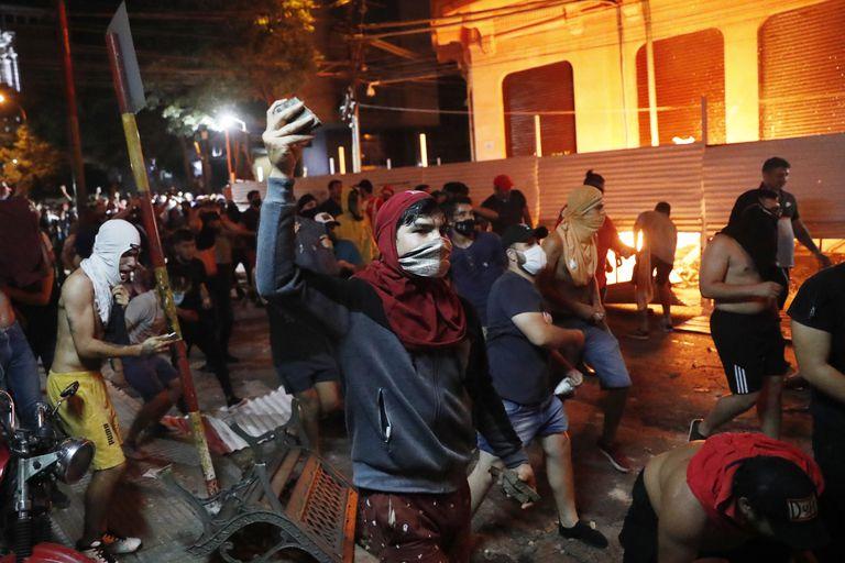 Asunción: El presidente de Paraguay anuncia cambios en su Gabinete tras una protesta por la gestión de la pandemia | Internacional | EL PAÍS