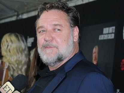 Russell Crowe, en el estreno de 'La voz más alta', en junio de 2019 en Nueva York.