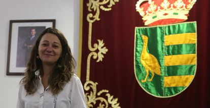 Beatriz Arceredillo, alcaldesa de Parla desde mediados de noviembre.