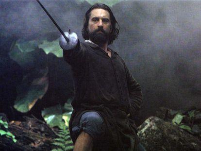 Robert De Niro, en 'La misión'.