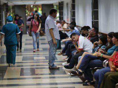 La sala de emergencia del Centro Médico de Caracas