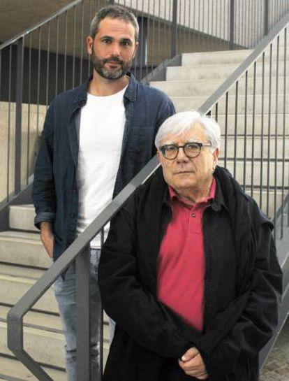 Los corresponsales Xabier Aldekoa y Juan Pedro Quiñonero.