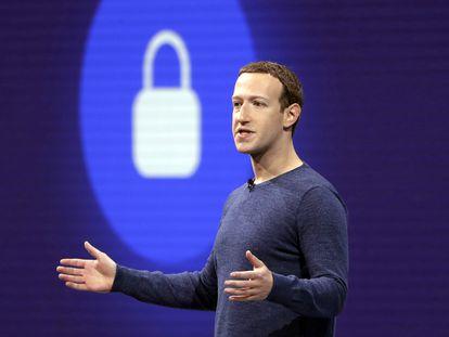 El fundador de Facebook, Mark Zuckerberg, en una imagen de archivo.