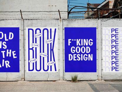 Campaña gráfica para los Premios Europeos del Diseño 2020, del estudio Yinsen.