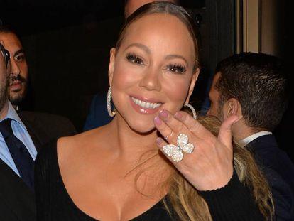 La cantante Mariah Carey en Londres, el pasado mayo.