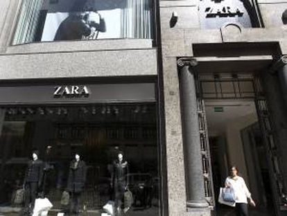 El grupo Inditex, dueño de Zara. EFE/Archivo