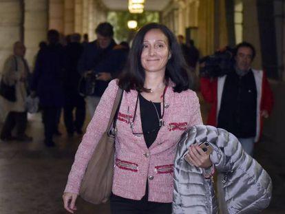 La juez del caso de los cursos de formación, María Núñez.