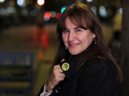 Laura Borràs, una de las tres candidatas a encabezar la lista de Junts x Cat en las elscciones del 14 de febrero.