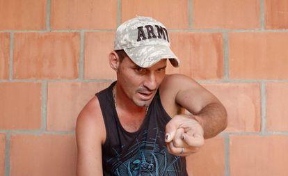 Frederman Ospina, en una imagen de Javier Codesal.