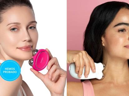 Estos aparatos llevan la electroestimulación de rostro y cuello, uno de los tratamientos de belleza más demandados, al hogar.