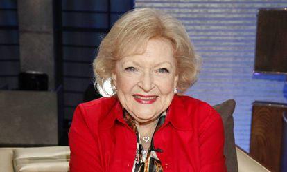 Betty White, en 2015.