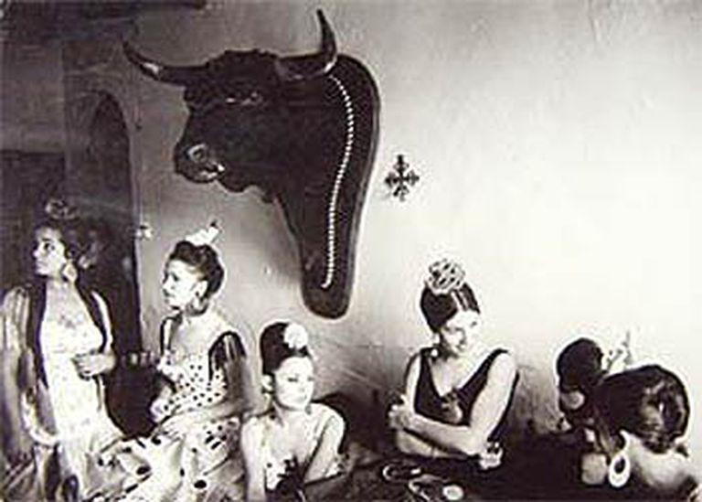 Fotografía <i>Fiesta campera</i>, <i>Sevilla</i> (1965), de Ramón Masats (Galería Kowasa, Barcelona).