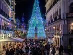 Aglomeraciones en la calle Preciados de Madrid el pasado 29 de noviembre.