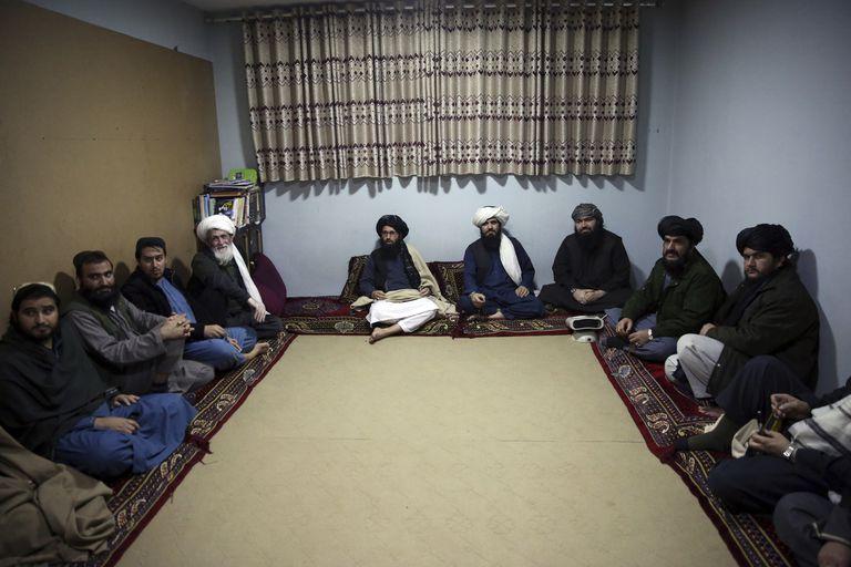 Prisioneros talibanes en la cárcel de Pul-e-Charkhi, a las afueras de Kabul.