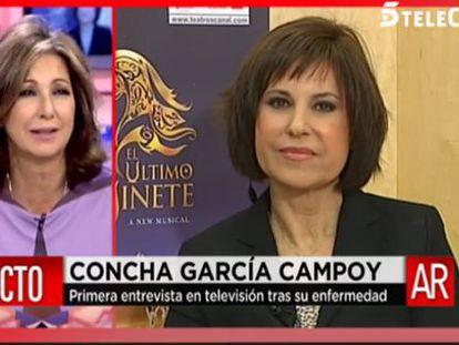 """Concha García Campoy: """"Quiero dar un mensaje de alegría y optimismo"""""""