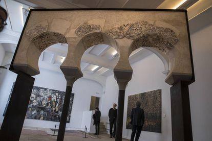 Arcos andalusíes en el nuevo Centro de Arte Moderno y Contemporáneo de Castilla-La Mancha, en Toledo.