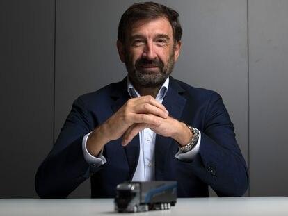 José López-Tafall, director de ANFAC, posa en su sede en Madrid.