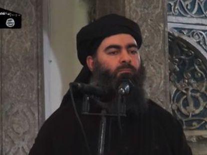 El líder del Estado Islámico instauró un 'califato' que gobernó con mano de hierro partes de Irak y Siria