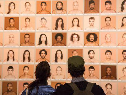 Exhibición del proyecto Humanae en Valencia.