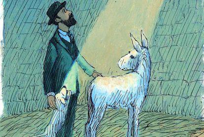 'Platero y yo' con ilustraciones de Thomas Docherty.