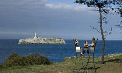 La península de la Magdalena, en Santander, sede de los cursos de verano de la Universidad Internacional Menéndez Pelayo.