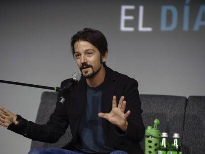 Diego Luna, en la presentación de El día después.