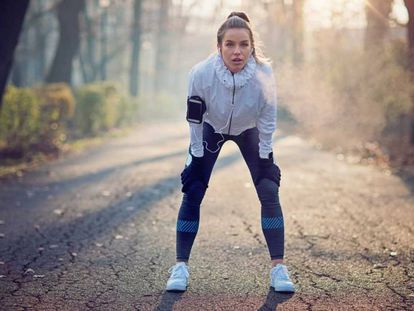 Un rodillo de rehabilitación y otros artículos para recuperarte después de entrenar