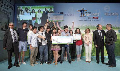 El periódico <i>Enredados</i>, del colegio Nuestra Señora de la Paz, de Torrelavega (Cantabria), ha ganado la novena edición de El País de los Estudiantes, el programa de prensa-escuela del diario EL PAÍS patrocinado por Endesa
