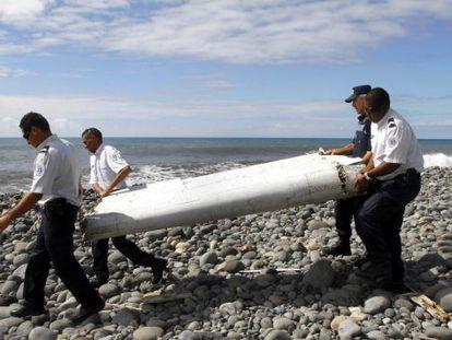 Posible resto del vuelo MH370 hallado en la isla Reunión.