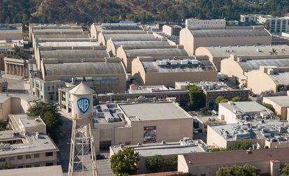 Vista de los estudios de Warner Bros en Burbank, California (EE UU).