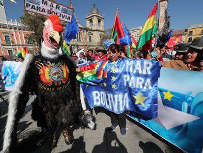 Evo Morales no descarta una reunión con Chile   Si bien no hay una obligación de negociar, hay una invocación a seguir con el diálogo