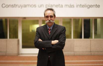 Juan Antonio Zufiría, presidente de IBM en España.