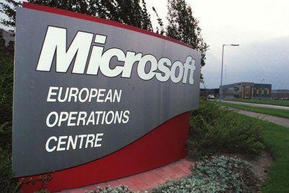 Sede europea de operaciones de Microsoft en Dublín.