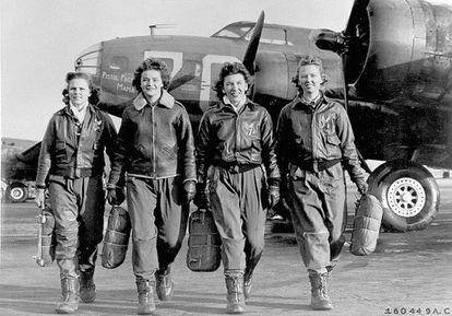 Mujeres piloto de EE UU en la Segunda Guerra Mundial.