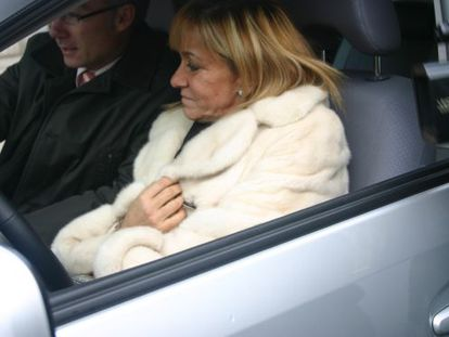 La presidenta de la Diputación, Isabel Carrasco.