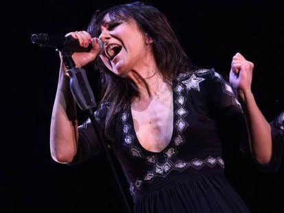 Eva Amaral, en una actuación en Madrid.