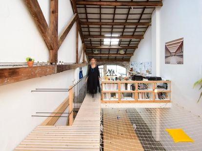 El estudio de LoCa, LoCaOffice, en Barcelona. |
