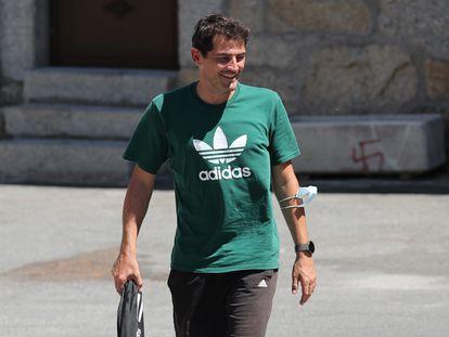Iker Casillas, fotografiado en Navalacruz este miércoles.
