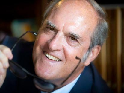 Ángel Gabilondo, exministro y catedrático de Metafísica, a mediados de septiembre.