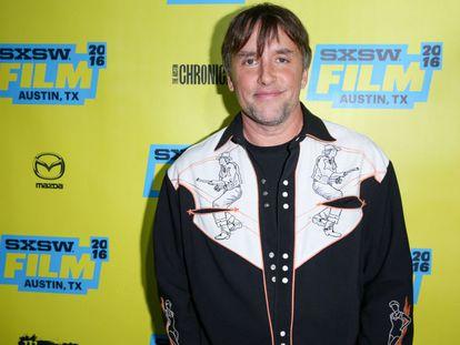 El director Richard Linklater llega al estreno de su nueva película, 'Everybody Wants Some', en el teatro Paramount, en Austin el pasado viernes.