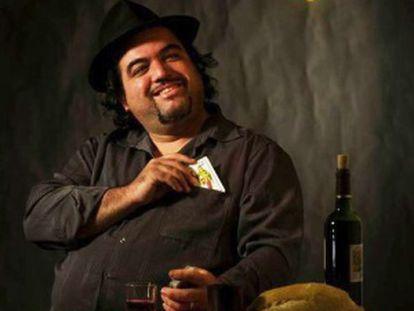 El mago José Luis Rubiales con su espectáculo 'Magia con denominación de origen'.