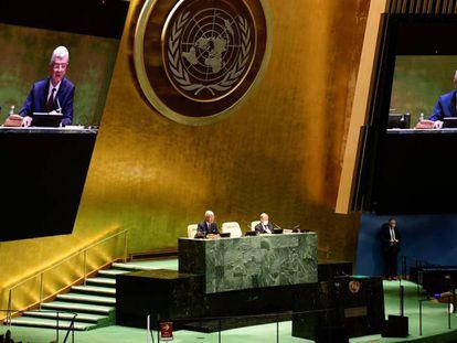 La Asamblea General de la ONU abrió este martes su 75 período de sesiones bajo la sombra de la pandemia.